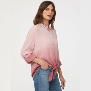 BeachLunchLounge 'Yumi' Tie Front Top